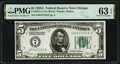 $5 and $10 Federal Reserve Notes. Fr. 1951-G $5 1928A PMG Choice Uncirculated 63 EPQ; Fr. 1952-D $5 1928B About Unc... (...