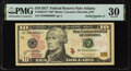 Fr. 2043-F* $10 2017 Federal Reserve Note. PMG Very Fine 30