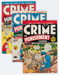 Golden Age (1938-1955):Crime, Crime and Punishment #9-12 and 14 Group (Lev Gleason, 1948-49).... (Total: 5 Comic Books)