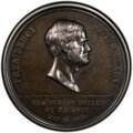 1869 Medal Pacific Railway Completion, Silver, HK-12a, J-CM-39, R.6, SP61 PCGS. PCGS Population: (0/0). NGC Census: (0/0...