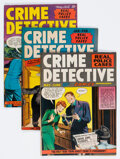 Golden Age (1938-1955):Crime, Crime Detective Comics #2, 6, and 8 Group (Hillman Publications, 1948-49).... (Total: 3 Comic Books)