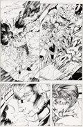 Original Comic Art, Jim Lee, Scott Williams, and others WildC.A.T.S: Covert Action Teams #6 Story Page 1 Original Art (Image, 1993)....
