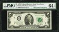 Mismatched Prefix Error Fr. 1935-B $2 1976 Federal Reserve Note. PMG Choice Uncirculated 64 EPQ