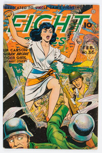 Fight Comics #36 (Fiction House, 1945) Condition: FN+