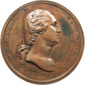 (Circa 1789) Washington Before Boston Medal, First Paris Mint Issue, SP61 PCGS. Baker-47B, Betts-542, Musante GW-09-P1...