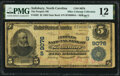 National Bank Notes:North Carolina, Salisbury, NC - $5 1902 Date Back Fr. 592 The Peoples National Bank Ch. # (S)9076 PMG Fine 12.. ...