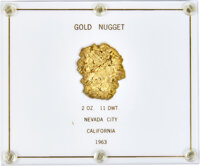 Nevada City Gold Nugget, Uncertified