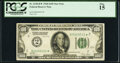 Small Size:Federal Reserve Notes, Fr. 2150-B* $100 1928 Federal Reserve Note. PCGS Fine 15.. ...