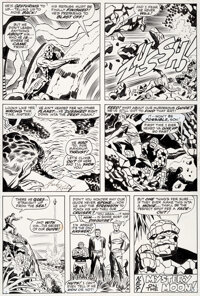 Jack Kirby and Frank Giacoia Fantastic Four #97 Story Page 20 Original Art (Marvel, 1970)