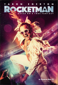 """Rocketman (Paramount, 2019). Rolled, Very Fine+. One Sheet (27"""" X 40"""") DS Advance. Rock and Roll"""