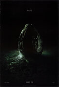 """Movie Posters:Science Fiction, Alien: Covenant (20th Century Fox, 2017). Rolled, Very Fine+. One Sheet (27"""" X 40"""") DS Advance, Style B. Science Fiction.. ..."""