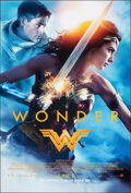"""Movie Posters:Action, Wonder Woman (Warner Bros., 2017). Rolled, Very Fine+. One Sheet (27"""" X 40"""") DS Advance. Action.. ..."""