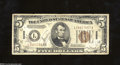 Small Size:World War II Emergency Notes, Fr. 2302 $5 1934-A Hawaii Federal Reserve Note. Fine, ...
