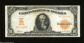 Large Size:Gold Certificates, Fr. 1169 $10 1907 Gold Certificate Crisp Uncirculated. ...