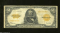 Large Size:Gold Certificates, Fr. 1200 $50 1922 Gold Certificate Fine. Although this ...