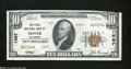 National Bank Notes:Delaware, Dover, DE - $10 1929 Ty. 2 The First NB Ch. # 1567