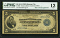 Large Size:Federal Reserve Bank Notes, Fr. 803 $5 1918 Federal Reserve Bank Note PMG Fine 12.. ...