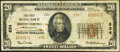 National Bank Notes:Pennsylvania, Shippensburg, PA - $20 1929 Ty. 2 The First National Bank Ch. # 834 Very Fine.. ...