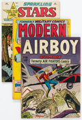 Golden Age (1938-1955):War, Golden Age War Comics Group of 6 (Various Publishers, 1940s).... (Total: 6 Comic Books)