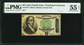 Fractional Currency:Fourth Issue, Fr. 1379 50¢ Fourth Issue Dexter PMG About Uncirculated 55 Net.. ...
