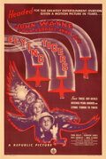 """Movie Posters:War, Flying Tigers (Republic, 1942). Fine+ on Linen. One Sheet (27.5"""" X 41"""") Style B.. ..."""