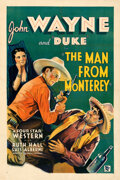 """Movie Posters:Western, The Man from Monterey (Warner Bros. - First National, 1933). Fine on Linen. One Sheet (27.25"""" X 41"""").. ..."""