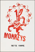 """Movie Posters:Science Fiction, Twelve Monkeys (Universal, 1995). Rolled, Very Fine+. One Sheet (26.75"""" X 39.75"""") SS Advance. Science Fiction.. ..."""