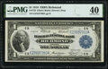 Fr. 722 $1 1918 Federal Reserve Bank Note PMG Extremely Fine 40