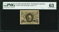 Fractional Currency:Second Issue, Fr. 1234 5¢ Second Issue PMG Choice Uncirculated 63.. ...