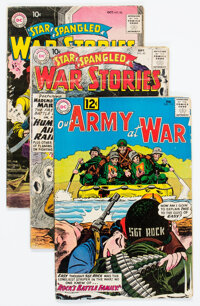 DC Silver Age War Comics Group of 6 (DC, 1960s) Condition: Average GD+.... (Total: 6 Comic Books)