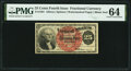 Fractional Currency:Fourth Issue, Fr. 1301 25¢ Fourth Issue PMG Choice Uncirculated 64.. ...