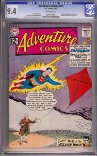 Adventure Comics #296 (DC, 1962) CGC NM 9.4 Off-white pages