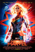 """Movie Posters:Action, Captain Marvel (Walt Disney Studios, 2019). Rolled, Very Fine+. One Sheet (27"""" X 4"""") DS Advance. Action.. ..."""