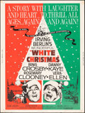"""Movie Posters:Musical, White Christmas (Paramount, R-1961). Rolled, Fine/Very Fine. Posters (2) Identical (30"""" X 40""""). Musical.. ... (Total: 2 Items)"""