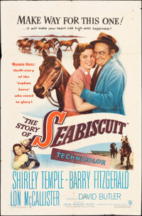 """The Story of Seabiscuit (Warner Bros., 1949). Folded, Fine/Very Fine. One Sheet (27"""" X 41""""). Drama"""
