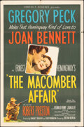 "Movie Posters:Drama, The Macomber Affair (United Artists, 1947). Folded, Fine. One Sheet (27"" X 41""). Drama.. ..."