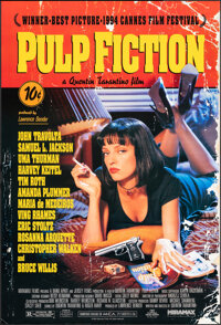 """Pulp Fiction (Miramax, 1994). Rolled, Very Fine+. One Sheet (27"""" X 40"""") SS. Crime"""