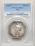 1925 Medal Norse, Thin Planchet, MS64 PCGS. PCGS Population: (188/81). NGC Census: (168/52). CDN: $330 Whsle. Bid for NG...