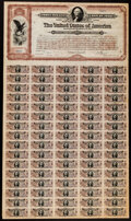 Large Size:Federal Proofs, $20 Spanish-American War 3% Coupon Bond of 1898 Hessler X188G Very Fine.. ...
