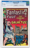 Silver Age (1956-1969):Superhero, Fantastic Four #48 (Marvel, 1966) CGC NM+ 9.6 Off-white to white pages....