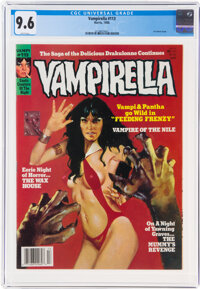 Vampirella #113 (Harris, 1988) CGC NM+ 9.6 White pages