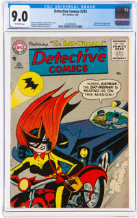 Detective Comics #233 (DC, 1956) CGC VF/NM 9.0 Off-white pages