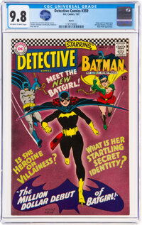 Detective Comics #359 Boston Pedigree (DC, 1967) CGC NM/MT 9.8 Off-white to white pages