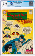 Silver Age (1956-1969):Superhero, Detective Comics #244 Big Apple Pedigree (DC, 1957) CGC NM- 9.2 Off-white pages....