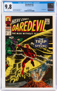 Daredevil #21 (Marvel, 1966) CGC NM/MT 9.8 White pages