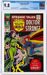 Strange Tales #150 (Marvel, 1966) CGC NM/MT 9.8 White pages