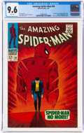 The Amazing Spider-Man #50 (Marvel, 1967) CGC NM+ 9.6 White pages