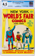 Golden Age (1938-1955):Superhero, New York World's Fair Comics 1940 (DC, 1940) CGC VG+ 4.5 White pages....