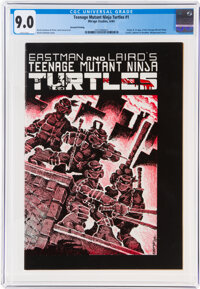 Teenage Mutant Ninja Turtles #1 Second Printing (Mirage Studios, 1984) CGC VF/NM 9.0 White pages