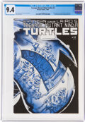 Modern Age (1980-Present):Alternative/Underground, Teenage Mutant Ninja Turtles #2 (Mirage Studios, 1984) CGC NM 9.4 Off-white to white pages....